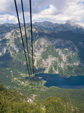 Lake Bohinj from Vogel Royalty Free Stock Photos