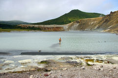Lake Boiling Royalty Free Stock Image