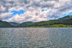 Lake Bolboci Arkivfoton