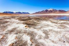 Lake, Bolivia Altiplano Stock Photography