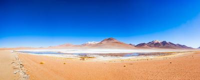Lake, Bolivia Altiplano Stock Photo