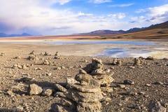 Lake in Bolivia Royalty Free Stock Photo