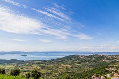 Lake Bolsena, Italy Royalty Free Stock Photo