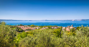 Lake Bolsena, province of Viterbo, Lazio, Italy Royalty Free Stock Photography