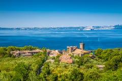 Lake Bolsena, province of Viterbo, Lazio, Italy Stock Photo