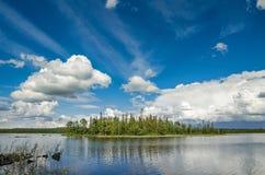 Lake Bolshoye Northern Russia Royalty Free Stock Photos