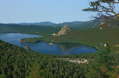 Lake Borovoe. Kazakhstan Royalty Free Stock Photography