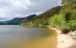 Lake Borovoe, State National Natural Park Stock Photo