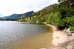 Lake Borovoe, State National Natural Park Stock Photos