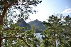 Lake Borovoe, State National Natural Park Royalty Free Stock Image