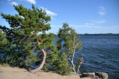 Lake Borovoe, State National Natural Park Royalty Free Stock Images
