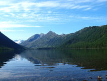 Lake bottom Multa, mountain Altai 8 Royalty Free Stock Photos