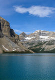 Lake Bow in Banff National Park, Alberta Stock Photography