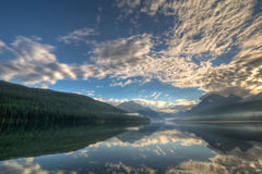 Lake Bowman Reflection Stock Photos