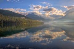 Lake Bowman Reflection Stock Images