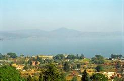 Lake Bracciano, Italien Royaltyfria Foton