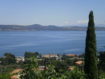 Lake Bracciano in Italy Stock Photo