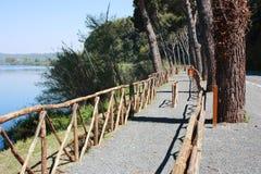 Lake Bracciano. Royalty Free Stock Images