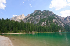 Lake Braies - Dolomites, Italy Royalty Free Stock Photography