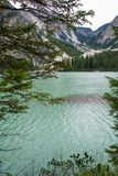 The  lake of Braies Royalty Free Stock Photography