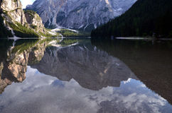 Lake of Braies Italy Royalty Free Stock Image