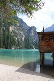Lake Braies Lago di Braies Stock Photos