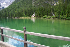 Lake Braies Royalty Free Stock Photo