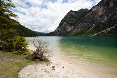 Lake Braies Royalty Free Stock Image