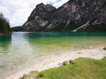 Lake Braies Stock Photography