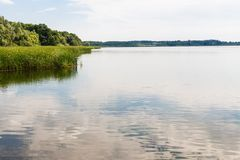 Lake in Brandenburg, Germany Royalty Free Stock Images