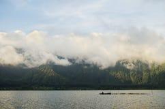 Lake bratan in bali indonesia Royalty Free Stock Images