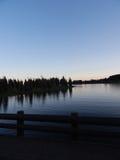 Lake bridge Royalty Free Stock Images
