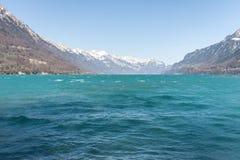 Lake Brienz Royaltyfria Foton