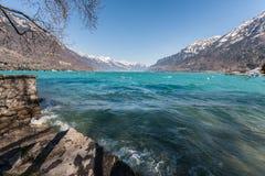 Lake Brienz Royaltyfria Bilder