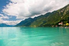 Lake Brienz, Berne Canton, Switzerland stock photo