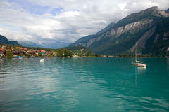 Lake Brienz, Berne Canton, Switzerland Royalty Free Stock Photography