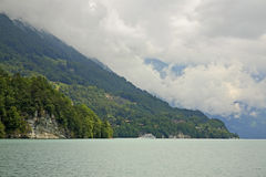 Lake Brienz in Interlaken. Switzerland Stock Photography