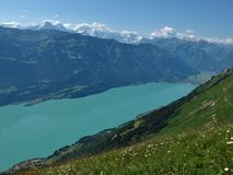 Lake Brienzersee And Interlaken Stock Images