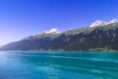 Brienzersee, Interlaken Switzerland. Lake Brienzersee in the summer. Interlaken, Bernese Oberland, Switzerland Royalty Free Stock Photography