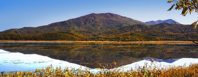 Lake Brother. Lake in the autumn morning royalty free stock photos