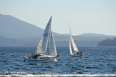 On Lake Brunner Royalty Free Stock Image