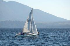 On Lake Brunner Royalty Free Stock Images