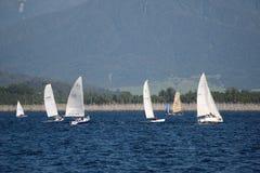 On Lake Brunner Royalty Free Stock Photo