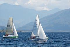 On Lake Brunner Stock Photos