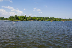 Lake in Bucharest Royalty Free Stock Photo