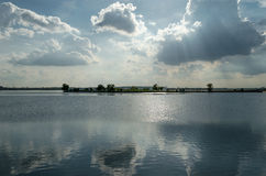 Lake in Bucharest Royalty Free Stock Photos