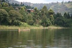 Lake Bunyoni - Uganda, Africa Royalty Free Stock Image