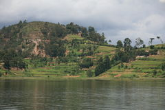 Lake Bunyoni - Uganda, Africa Royalty Free Stock Image