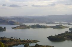 Lake Bunyonyi Royalty Free Stock Photography