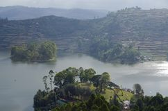Lake Bunyonyi Stock Photography